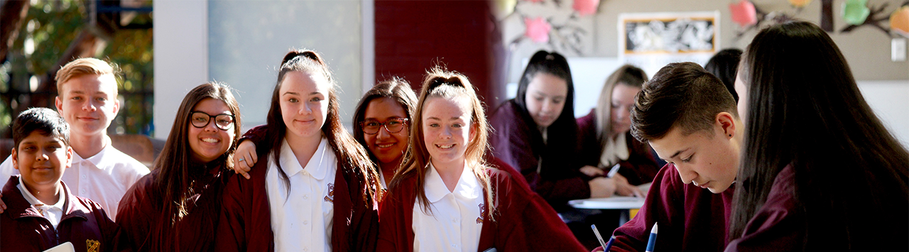 Campbelltown performing arts high school students